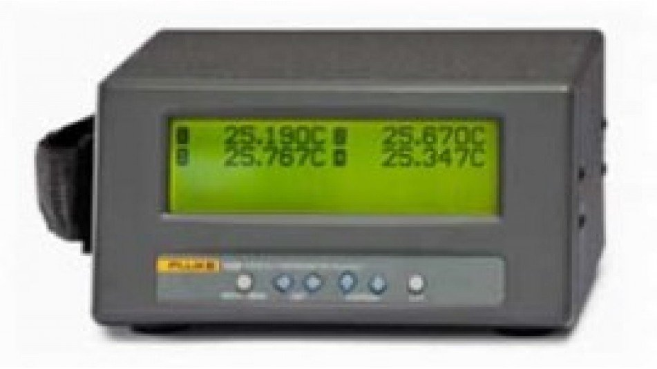 Fluke 1529-T-156 Chub-E4 Thermometer with 4 Thermocouple Inputs-
