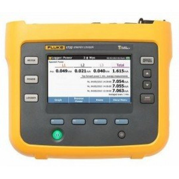 Fluke 1732/EUS Three-Phase Electrical Energy Logger with current probes-