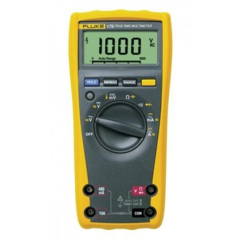Fluke 179 True RMS Digital Multimeter with built-in thermometer
