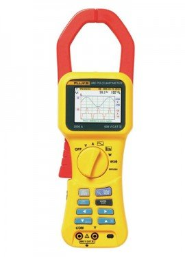 Fluke 345 Power Quality Clamp Meter, 1400 A-