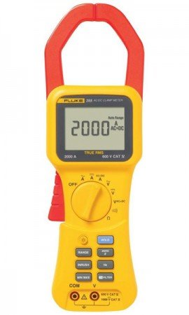 Fluke 355 True RMS Clamp Meter, 2000 A-