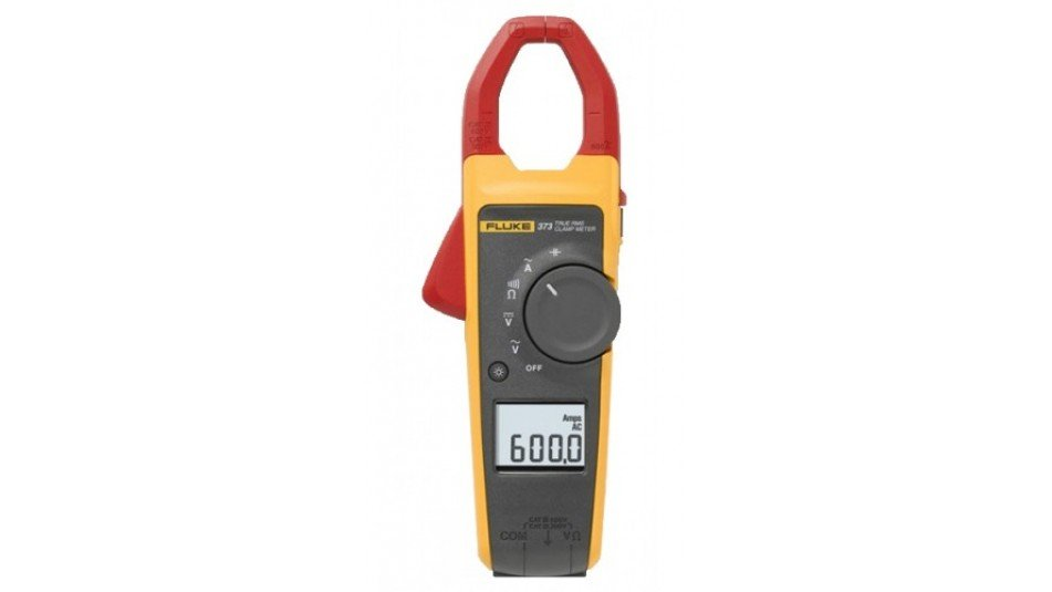 Fluke 373 True RMS AC Clamp Meter, 600 A-