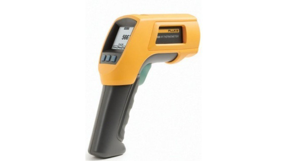 Fluke 566 Infrared and Contact Thermometer-