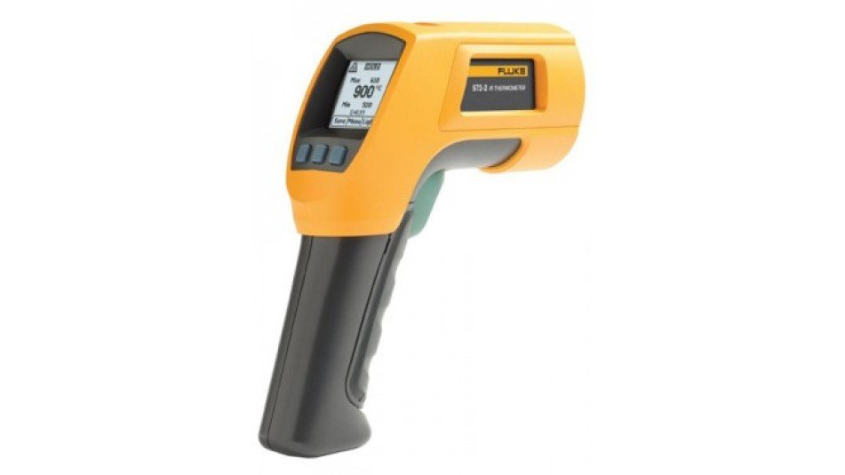 Fluke 572-2 High Temperature Infrared Thermometer, -22 to 1652。F-