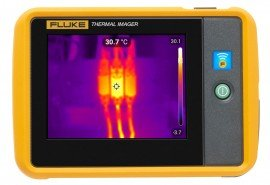 Fluke PTI120-9HZ Pocket Thermal Imager, 120 x 90, 9 Hz-