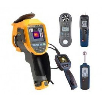 Fluke TI401-PRO-KIT Infrared Camera Kit - Includes FREE Products with Purchase