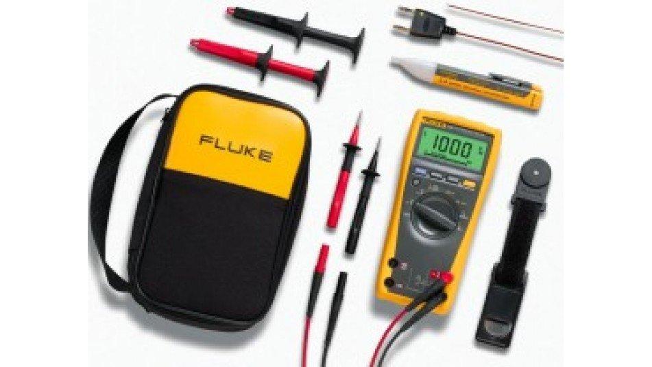 Fluke 179 True RMS Digital Multimeter with VoltAlert non-contact voltage tester kit-