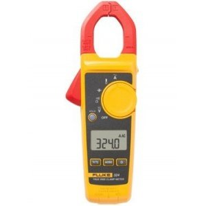Fluke 324 True RMS Clamp Meter with Temperature, 400A-