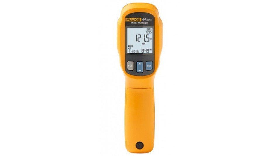 Fluke 64 MAX IR Thermometer, 20:1 distance to spot ratio-
