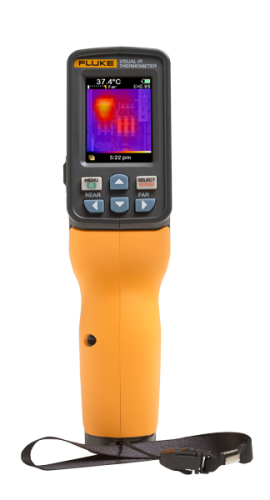 Fluke VT04A Visual IR Thermometer, AA Batteries, 14 to 482。F-