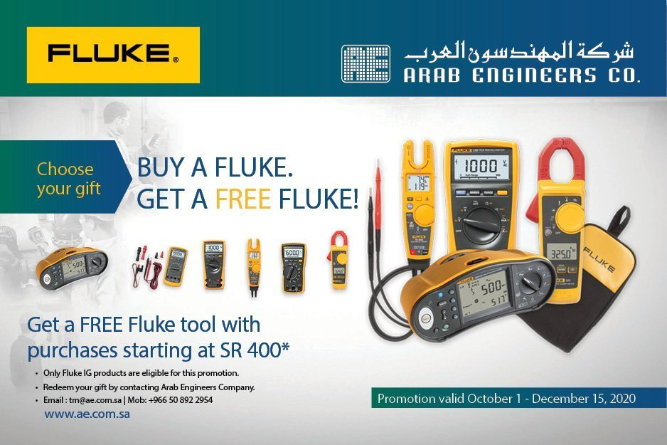 Buy a Fluke. Get a FREE Fluke!